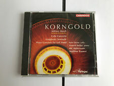Korngold: Military March Cello Concerto; Symphonic Serenade, Piano CD NEW SEALED