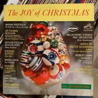 The Joy Of Christmas - VG+ MONO RCA vinyl LP album - vintage 1965 -  Mario Lanza