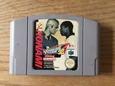 International Superstar Soccer 98 (Nintendo 64, 1998) PAL