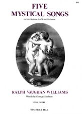 VAUGHAN WILLIAMS FIVE MYSTICAL SONGS Vocal Score
