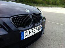 2 GRILLE DE CALANDRE CARBONE M LOOK BMW SERIE 5 E60 E61 525D 530D 530XD 535D M5