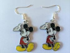 Pendientes de esmalte de Mickey Mouse Disney Lindo Niño Niñas Cumpleaños Regalo Presente