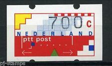 Nederland ATM automaatzegels Klussendorf nr 30 700 cent met nummer