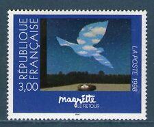 TIMBRE 3145 NEUF XX LUXE - LE RETOUR - OEUVRE DE MAGRITTE