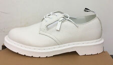 DR. MARTENS 1461 W/ZIP WHITE AUNT SALLY  SHOES SIZE UK 4