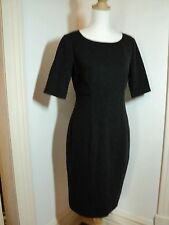 sportscraft stretch madmen style dress charcoal grey NWOT  sz 10