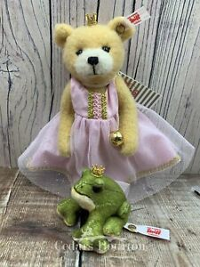 Steiff `The Frog Prince` Set of 2 Limited Edition