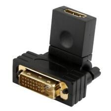 DVI 24 1 PIN MASCHIO A 19 PIN FEMMINA ADATTATORE HDMI ROTAZIONE DI 360 GRADI
