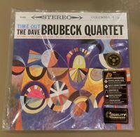 Dave Brubeck Quartet TIME OUT Analogue Productions 200g 33rpm Vinyl LP Sealed