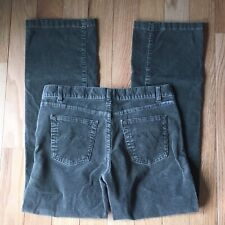 Columbia Green Corduroy Pants Size 10 Cords