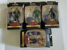 "Captain Marvel Legends Fury ,Rogg, Captain, talos 6"" set of 4 NEW"