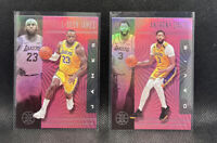 Lebron James & Anthony Davis Lakers 2019-20 Illusions Pink #20 Finals MVP Champs