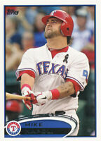 Mike Napoli 2012 Topps #37 Texas Rangers baseball card