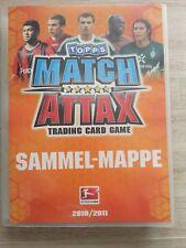 5 Karten zum Aussuchen - Match Attax - Trading Card Game - 10/11 Bundesliga