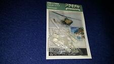 Kaiyodo World Tank museo kit ah-1s cobra clear plastic 1:144