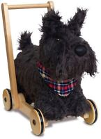 Little Bird Told Me SCOTTIE DOG PUSH ALONG Push Pull Along Toy BN