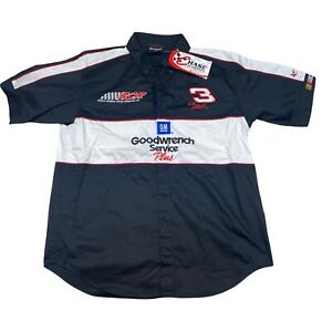 Dale Earnhardt #3 Chase New Goodwrench Service Plus Button Shirt