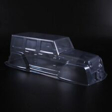 Clear PVC 313mm Body Shell Cover For 1/10 RC Crawler Truck Car D90 Jeep&decal