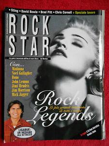 rivista ROCKSTAR 10/1999 Madonna Ligabue Sting Tom Jones Mick Jagger No cd