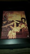 Celine Dion The Colour Of My Love Rare Original Promo Poster Ad Framed!