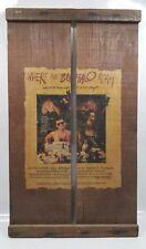 1980 Where the Buffalo Roam Movie Poster Hunter S. Thompson Bill Murray Folk Art