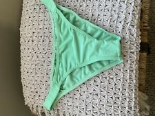 Asos Swim size Green  tie Up sides bikini bottoms Size Medium