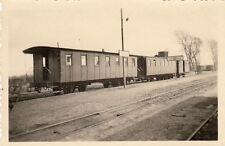 ORIG. foto aprox. 8x6cm tren vagón aurin-Calais estación geines? (g434)