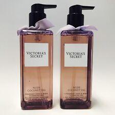 2 victoria's Secret NUDE COCO fig Fragancia manos y cuerpo gel de limpieza 248ml