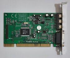 Terratec Promedia TT1816-N ISA Soundkarte (AD1816AJS, 1997)