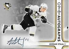 Jordan Staal - 2006-07 O-Pee-Chee Autographs - Card #A-JS