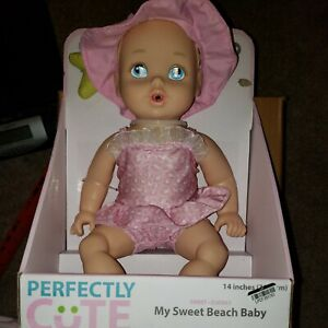 """Perfectly Cute My Sweet Beach Blonde Baby Doll 14""""H New"""