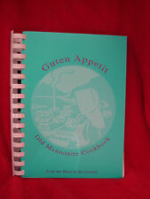 """ Guten Appetit"" Mennonite- Amish Family Favorite Recipes Spiral Bound Cookbook"