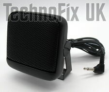 Compact square extension speaker 3.5mm jack plug with bracket loudspeaker