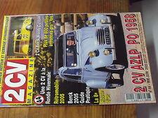 7µ?§ Revue 2CV Magazine n°44 2CV AZLP PO 1958 Carter moteur & serrage dynanometr