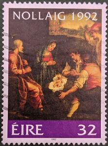Stamp Ireland SG863 1992 32p Christmas Used