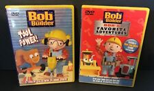 Bob The Builder Dvds Tool Power Favorite Adventures