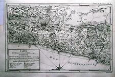 Antique map, Carte d'une partie de la Syrie et de la Palestine