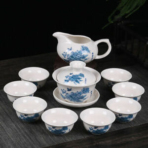 Drinkware Chinese Kung Fu Tea Set Purple Clay Ceramic Binglie Tea Pot & Tea Cup