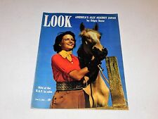 LOOK Magazine June 1941 - Girls of the R.A.F. In Color WWII Photos Submarines ++