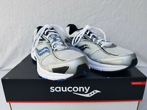 New Men's Saucony Grid Marauder 3 Running Shoes S25420 11 Silver/Grey/Blue