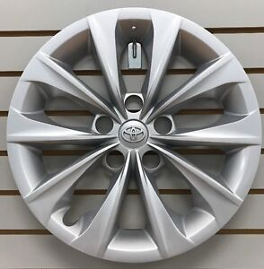 "2015-2017 Toyota CAMRY 16"" Silver Hubcap Wheelcover Factory Original"