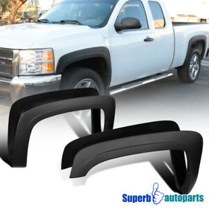 For 2007-2013 Silverado 1500 2500HD 3500HD Fleetside Factory Style Fender Flares