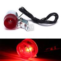Retro Fahrrad hinten LED-Anzeige Rotlicht Kabelhalter Rücklicht Lampe