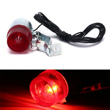Retro Bicycle Bike Rear LED Indicator Red Light Cable Holder Taillight Lamp~QA