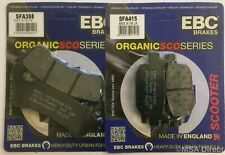 Honda NSS300 Forza (2013 to 2017) EBC Organic FRONT and Rear Disc Brake Pads