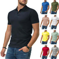 NEU Jack & Jones Herren Poloshirt Polohemd T-Shirt Shirt Basic Color Mix