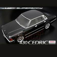 ABC Hobby NISSAN CEDRIC 430 190mm Body Set For 1:10 RC Cars Touring Drift #66120