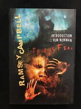 Thieving Fear 2008 Ramsey Campbell Kim Newman SIGNED 2x2  Limited 1st Edition