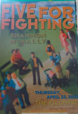 FIVE FOR FIGHTING FILLMORE POSTER Shannon McNally ORIGINAL GRAHAM F518 WIedemann