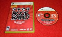 Rock Band Track Pack: Vol. 2 GAME & CASE for your XBOX 360 system - VG